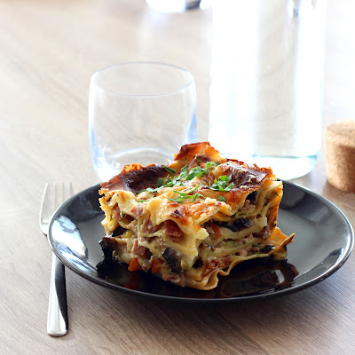 Illustration Lasagne Courgette - Champignon & Jambon