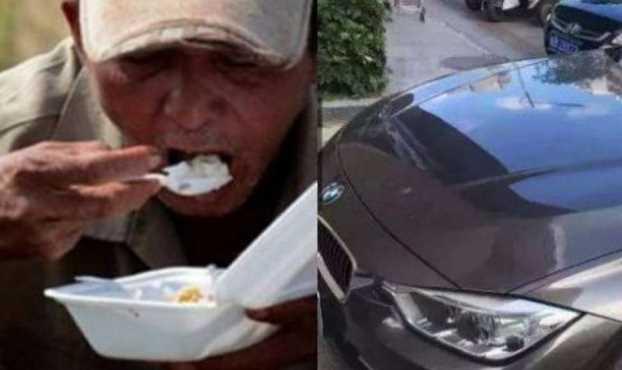 Kakek Ini Tak Sengaja Gores BMW, Selanjutnya Ini Yang Terjadi