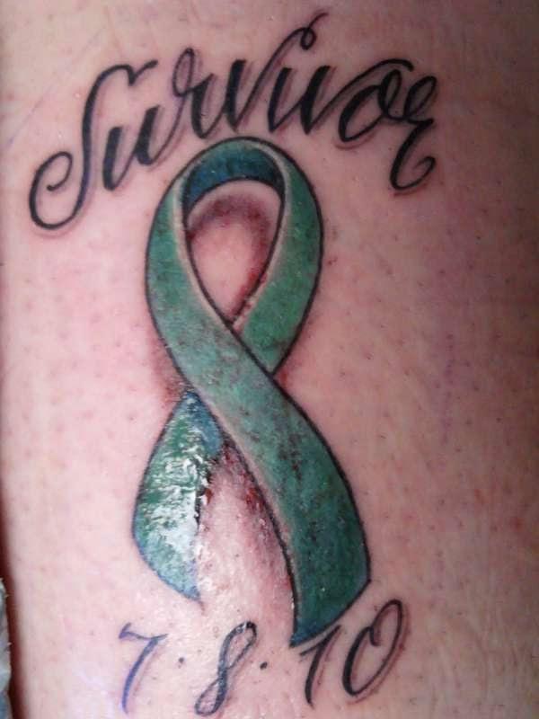 Tattoosession Com Ovarian Cancer Ribbon Tattoo Designs