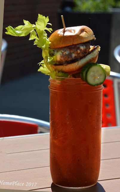 """Meat"" our Mary  - Plan b Bloody Mary"