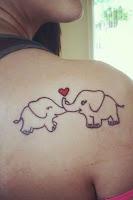 tatuaje elefante para el dia de la madre