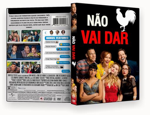 CAPA DVD – Não Vai Dar DVD-R