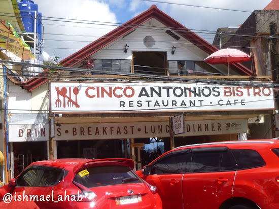 Cinco Antonios Bistro near Mines View Park, Baguio City