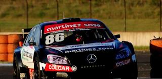 Top Race: en Concordia, el local Ponte clasificó cuarto