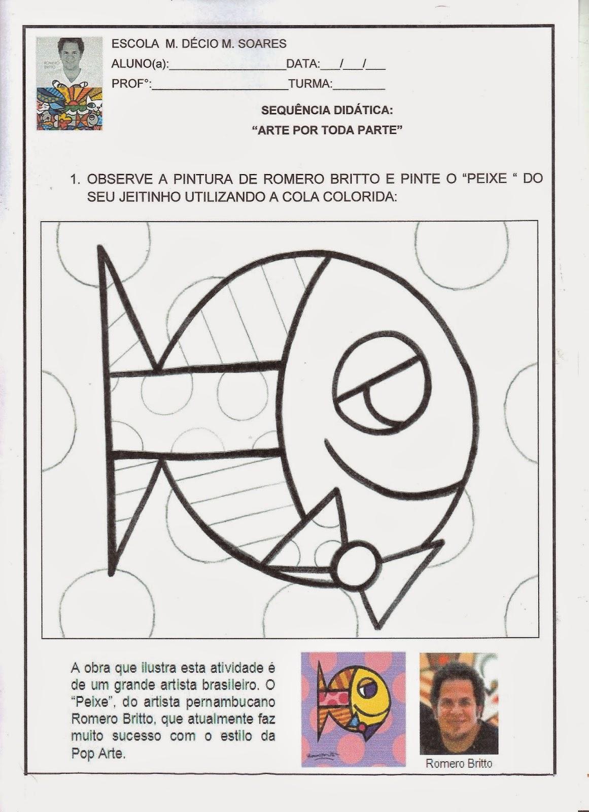 imagens para colorir sobre plano de aula