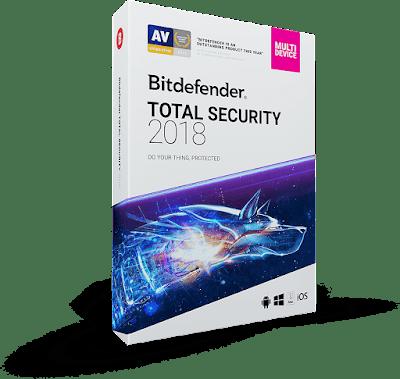 Bitdefender Total Security 2018-ΔΩΡΕΑΝ ΑΝΤΙΒΙΟΤΙΚΑ