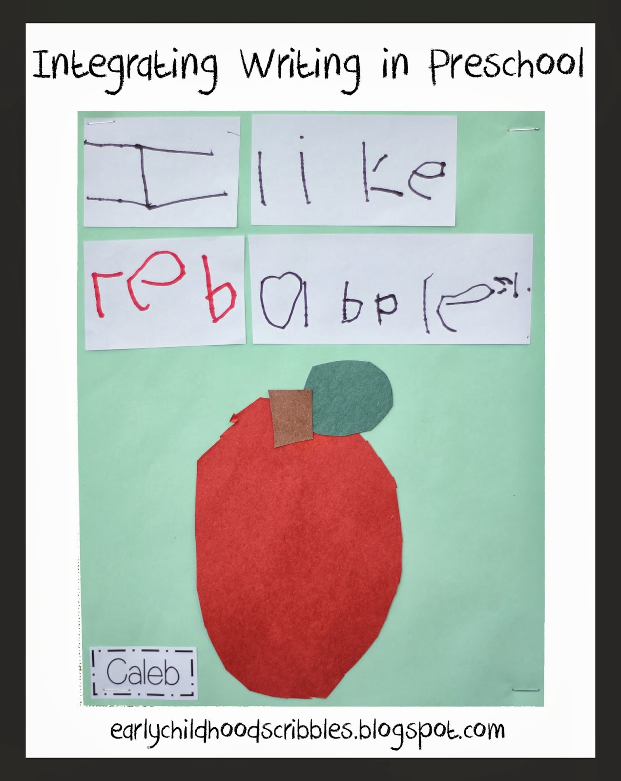 Early Childhood Scribbles Integrating Writing In Preschool