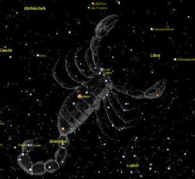 Zodia şi constelaţia Scorpionului