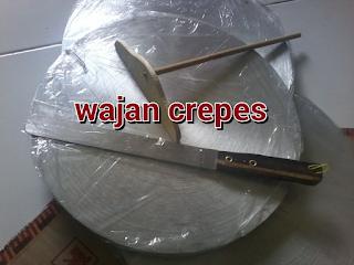 Jual wajan crepes manual untuk cetakan kue crepes