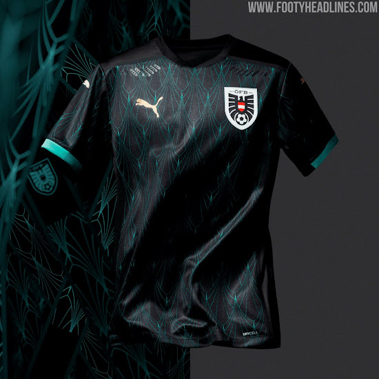 Austria Euro 2020 Away Kit Released - Footy Headlines