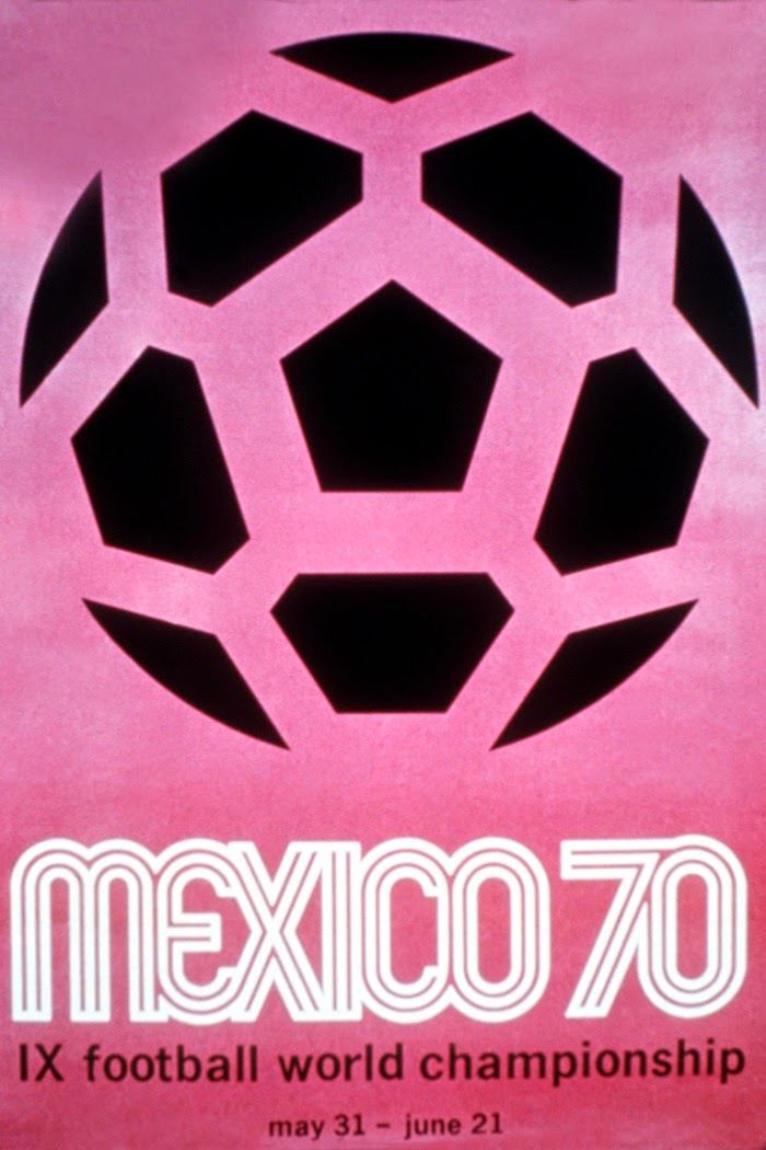 Vintage World Cup Posters Mexico 1970