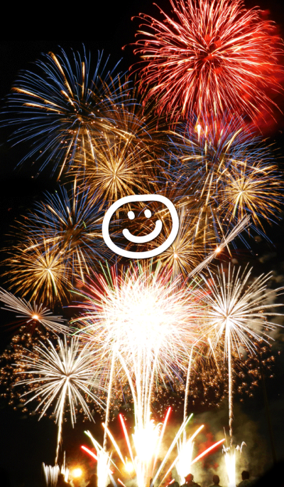 freedom Smile2 -fireworks-