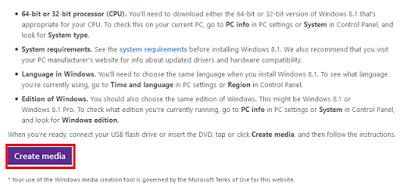 Cara Download File ISO Windows 8.1 / 10 Langsung Dari Microsoft