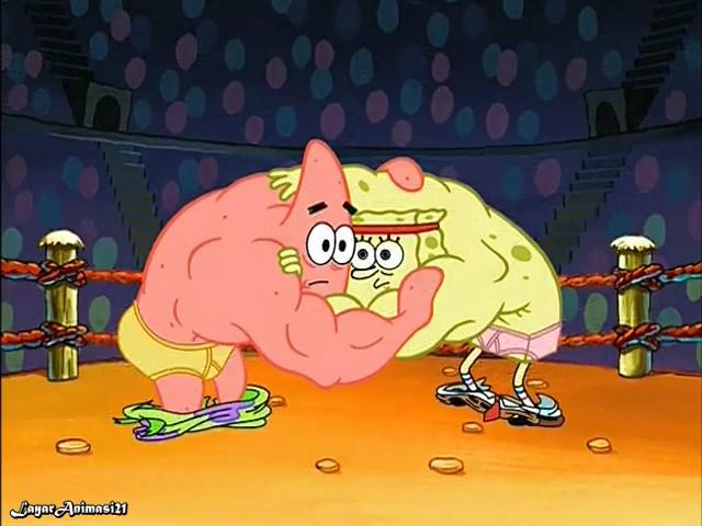 SpongeBob Season 2 Episode 19B - The Fry Cook Games SD 480p Dub Indo