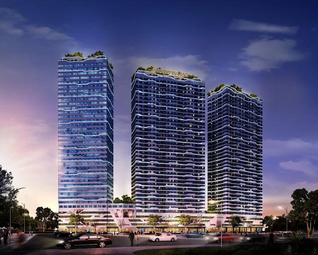 Dự án căn hộ chung cư Intracom Riverside Vĩnh Ngọc.