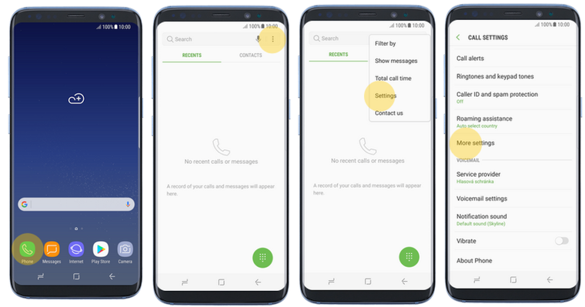 How To Change Voicemail On Samsung S8