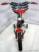 2 Sepeda Anak Erminio 1277 Super Sport 12 Inci