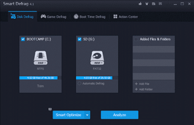 Free Download Aplikasi Smart Defrag  5.5.0.1024