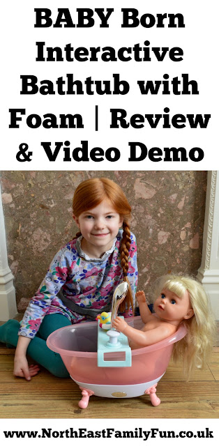 BABY Born Interactive Bathtub with Foam Review, Video, Demonstration and Instructions