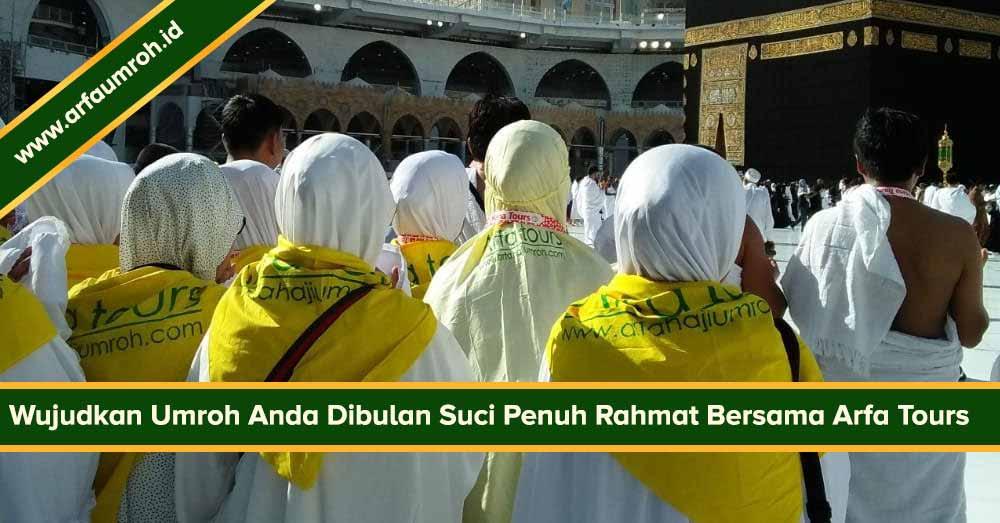Paket Umroh Bulan Ramadhan 2019 Bekasi