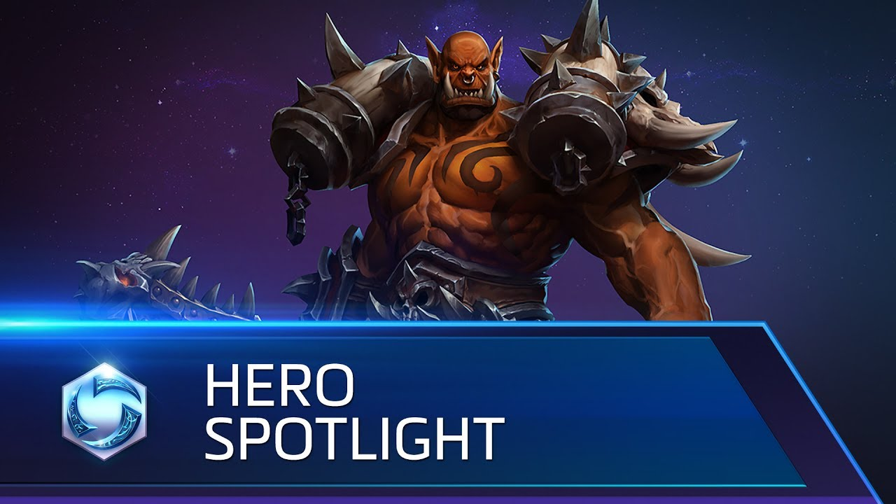 Garrosh llega al nexo de Heroes of the Storm