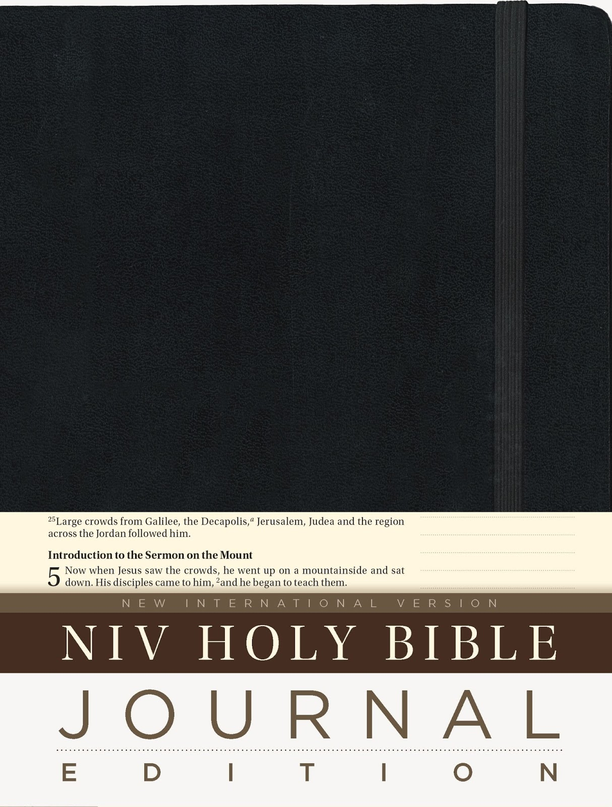 Vintage Leather Look Jeremiah Verse Bible Book Cover Large: Ink Blots By TRD: Book Review :: NIV Holy Bible, Journal