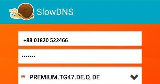 SLOWDNS OOREDOO TÉLÉCHARGER
