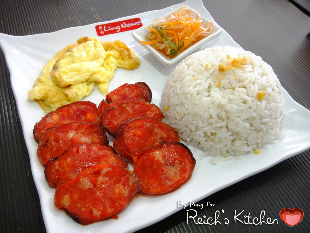 Reich's Kitchen: Quezon City: Ling Nam