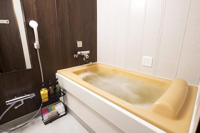 ダブルベッドルーム お風呂