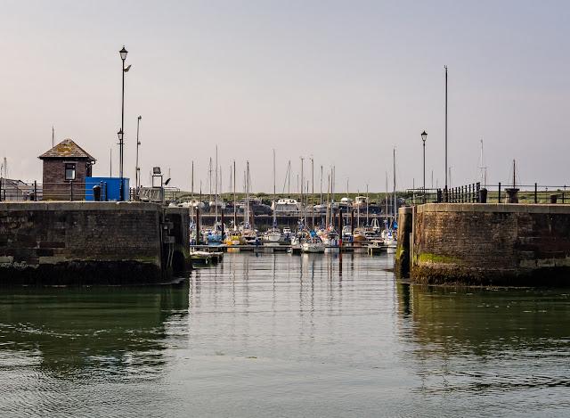 Photo of returning to Maryport Marina