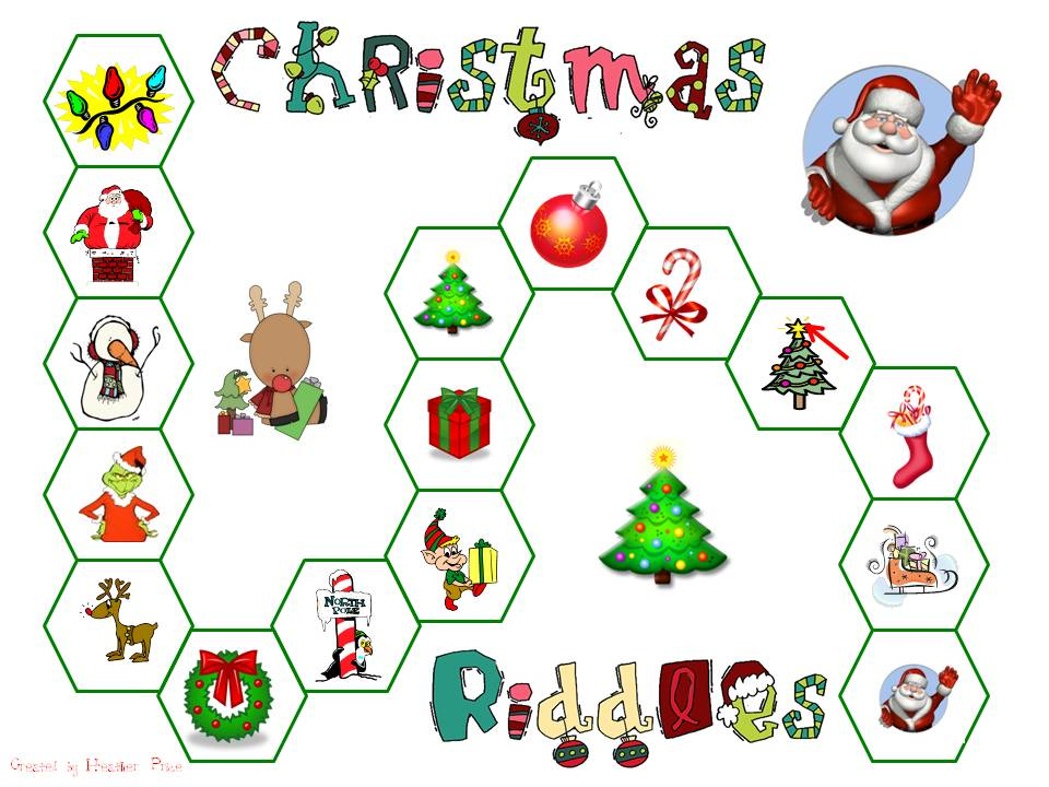 Christmas Riddles.Heather S Heart Guess Who Christmas Riddle Fun
