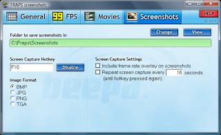 Fraps, Aplikasi untuk Record dan Screenshot Game di PC