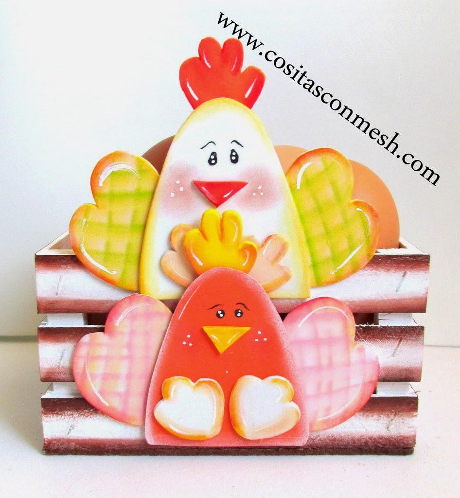 Manualidades-gallinitas-fomi