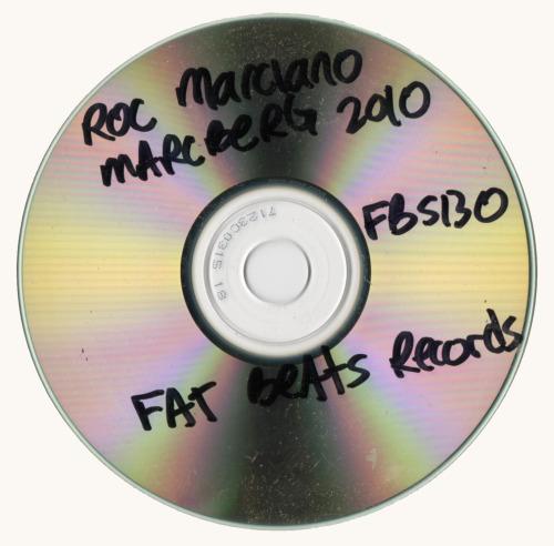 Roc Marciano Marcberg Fat Beats Records CD