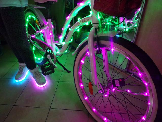 Rower led, buty led