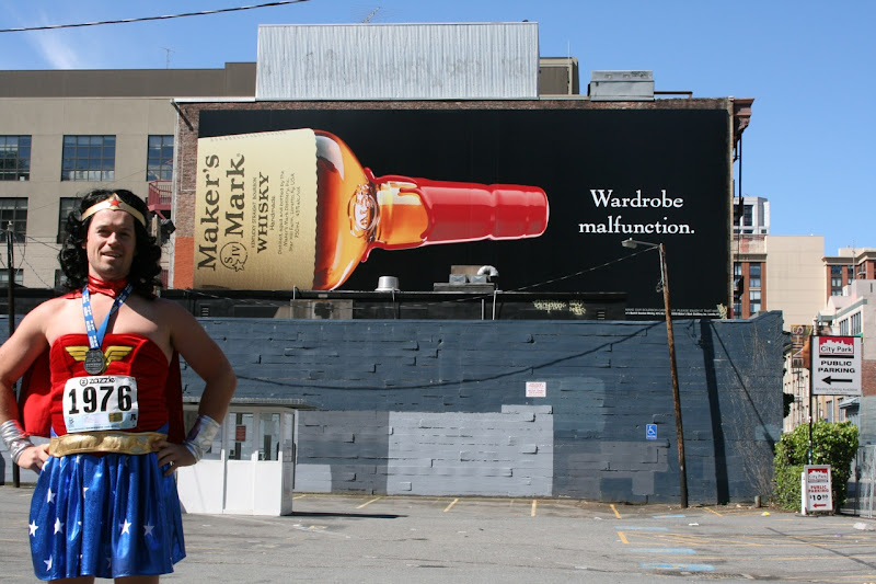 Maker's Mark Wardrobe Malfunction billboard