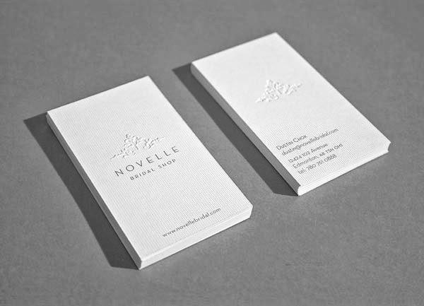 50 elegant embossed business cards  jayceoyesta
