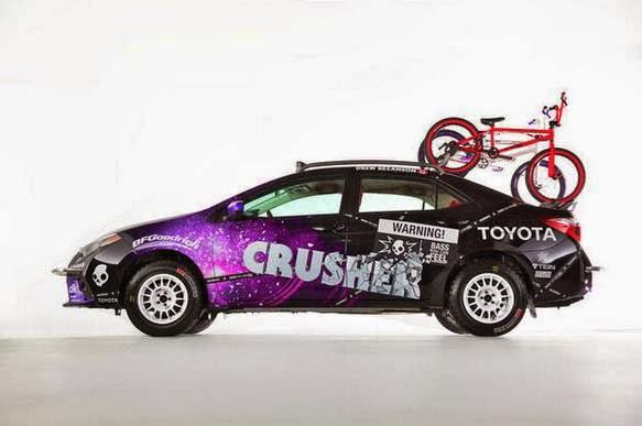 2013 SEMA Toyota Corolla Crusher
