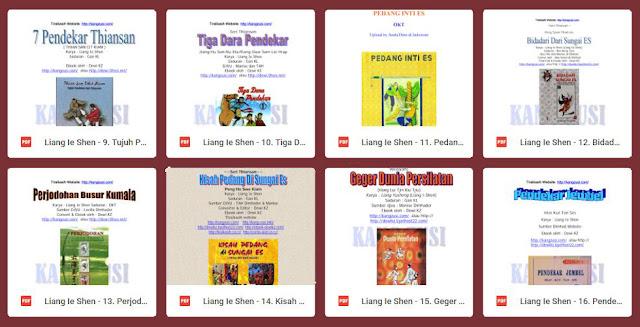 Download Cerita Silat Mandarin Karya Liang Yusheng