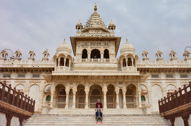 Jashwant Thada - Palais en marbre blanc à Jodhpur