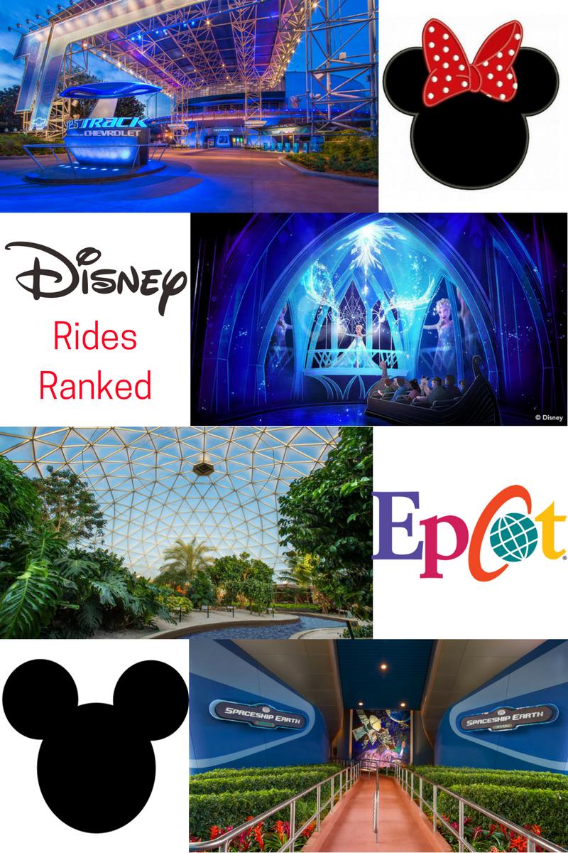 Disney's Epcot Rides Ranked