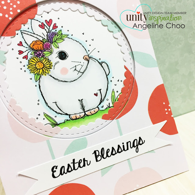 ScrappyScrappy: [NEW VIDEO] DT Bunny Blog Hop with Unity Stamp #scrappyscrappy #unitystampco #bunny #easterbunny #eastercard #papercraft #card #cardmaking #copic #ginamarie #quicktipvideo #youtube #video