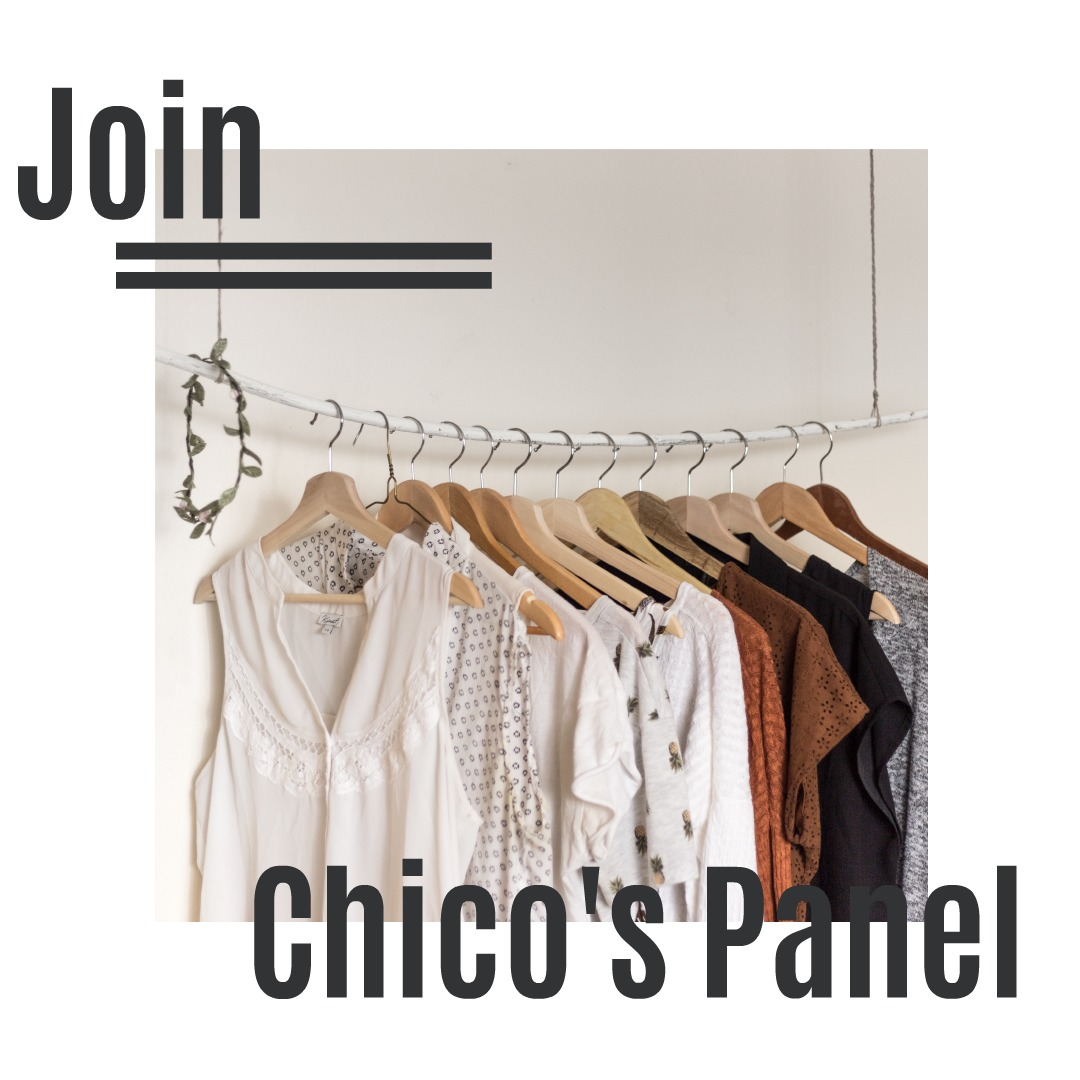 Join Chico's Panel and Enter to Win $100 Gift Cards!  via  www.productreviewmom.com