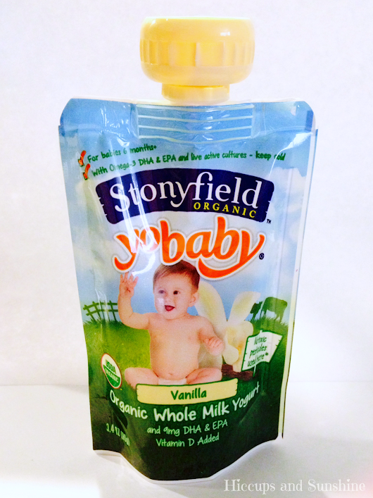 NEW Stonyfield Yogurt Pouches (Giveaway)