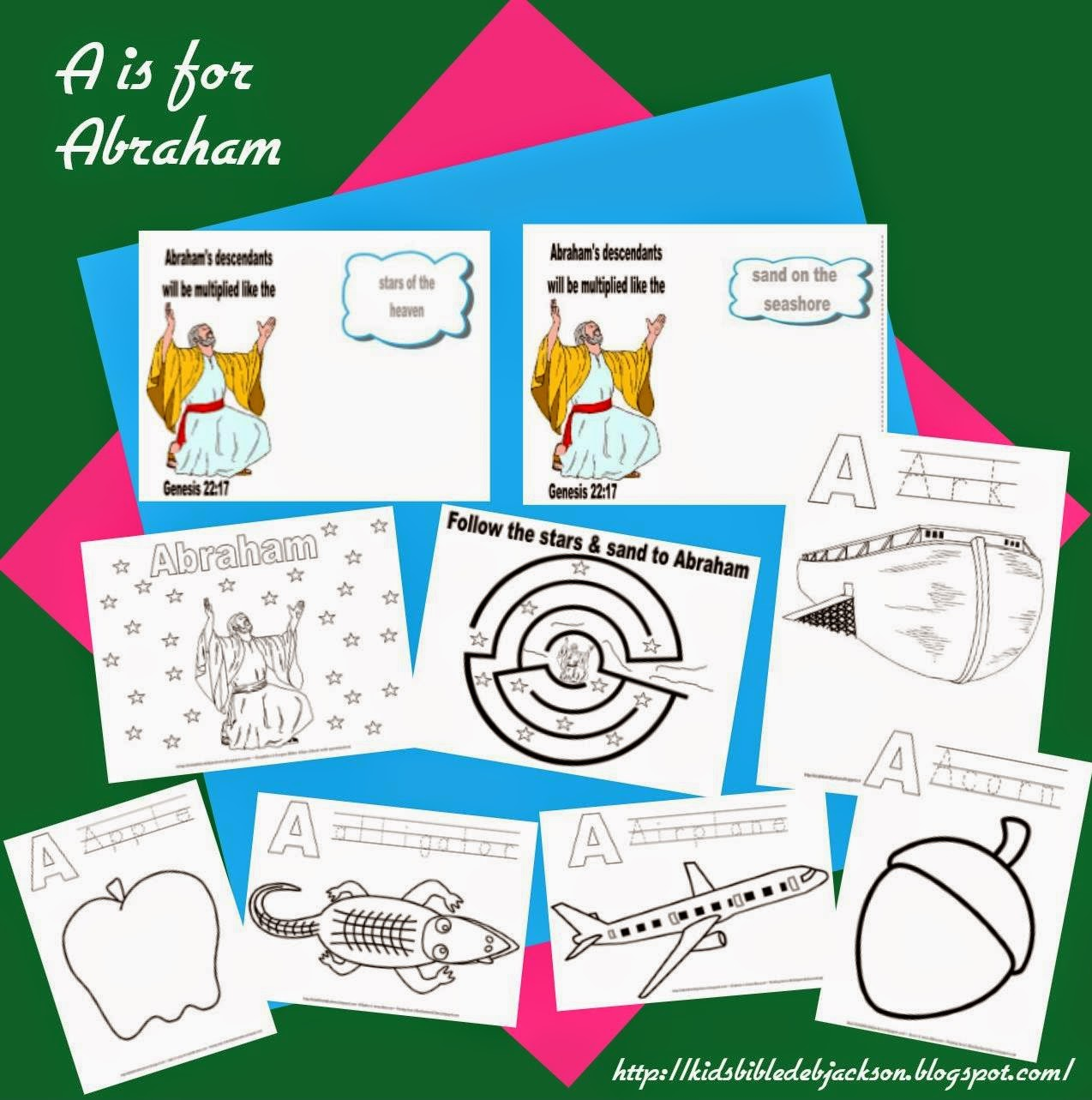 http://kidsbibledebjackson.blogspot.com/2014/04/preschool-alphabet-is-for-abraham.html