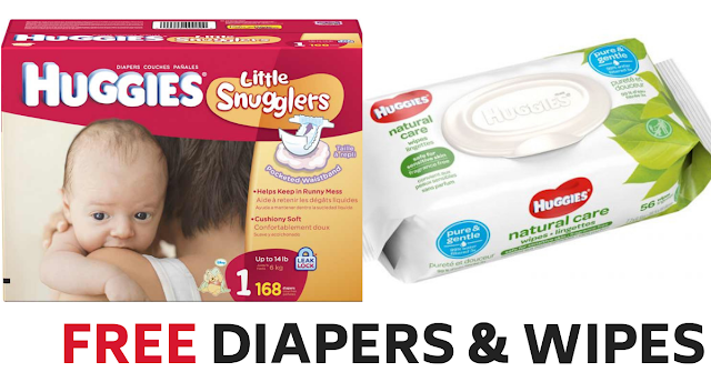 Free Huggies Diapers & Wipes Promotion