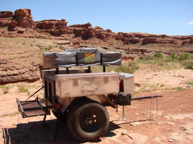 Bug Out Survival 4x4 Tent Trailers For Hauling Your Stuff