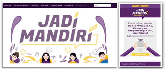 cara jadi mandiri dengan blog jadimandiri.org
