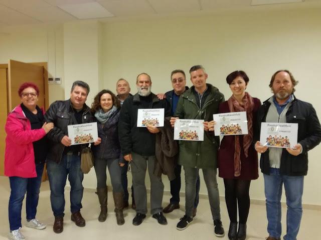 Participando y apoyando la gran labor de los Educadores Sociales