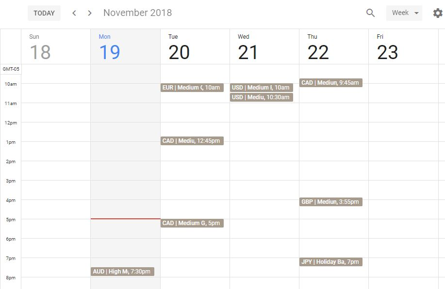 Best Forex Calendar.How To Add Economic Calendar For The Week In Google And Apple